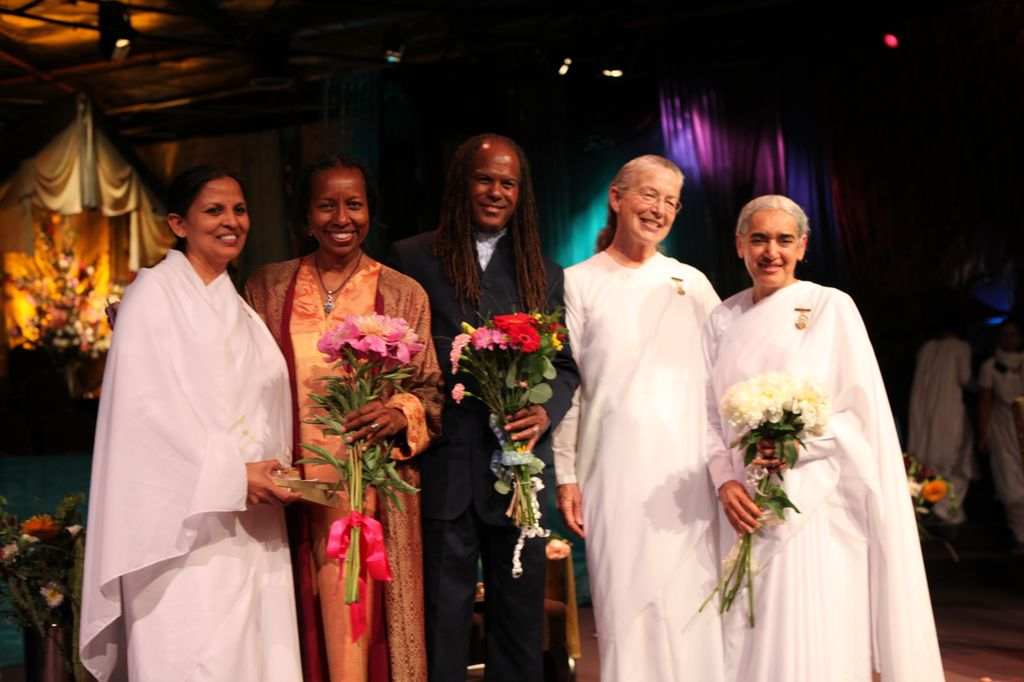 Agape Institute with Sr Jayanti and Rev Michael Beckwith