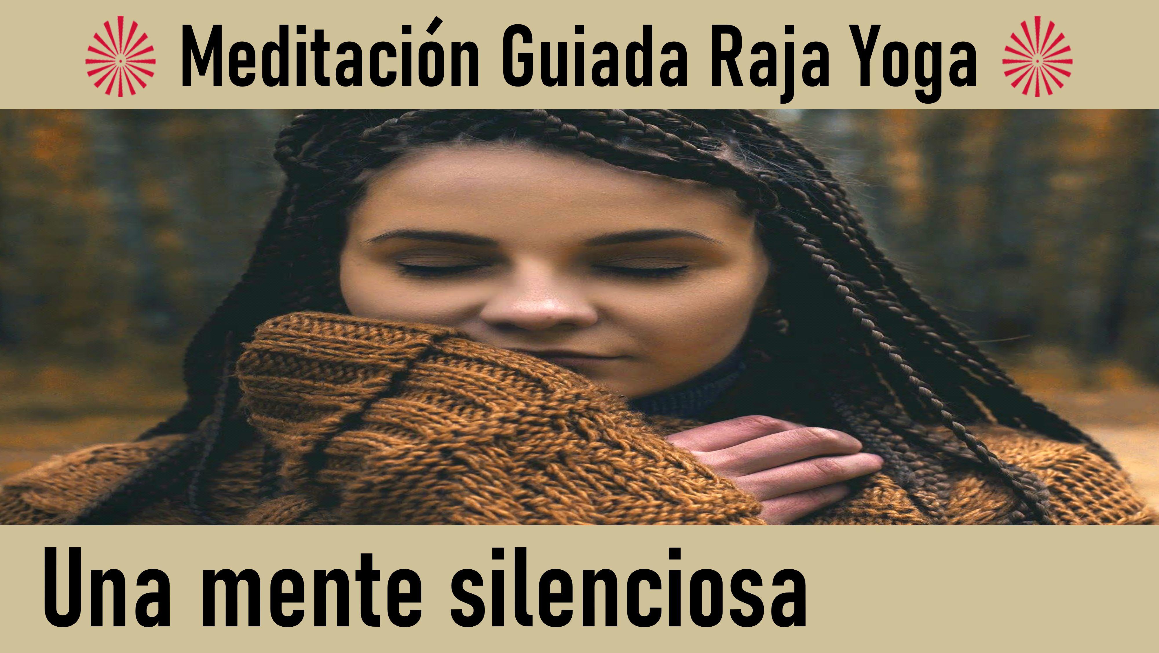 29 Mayo 2020 Meditación Guiada: Una mente silenciosa