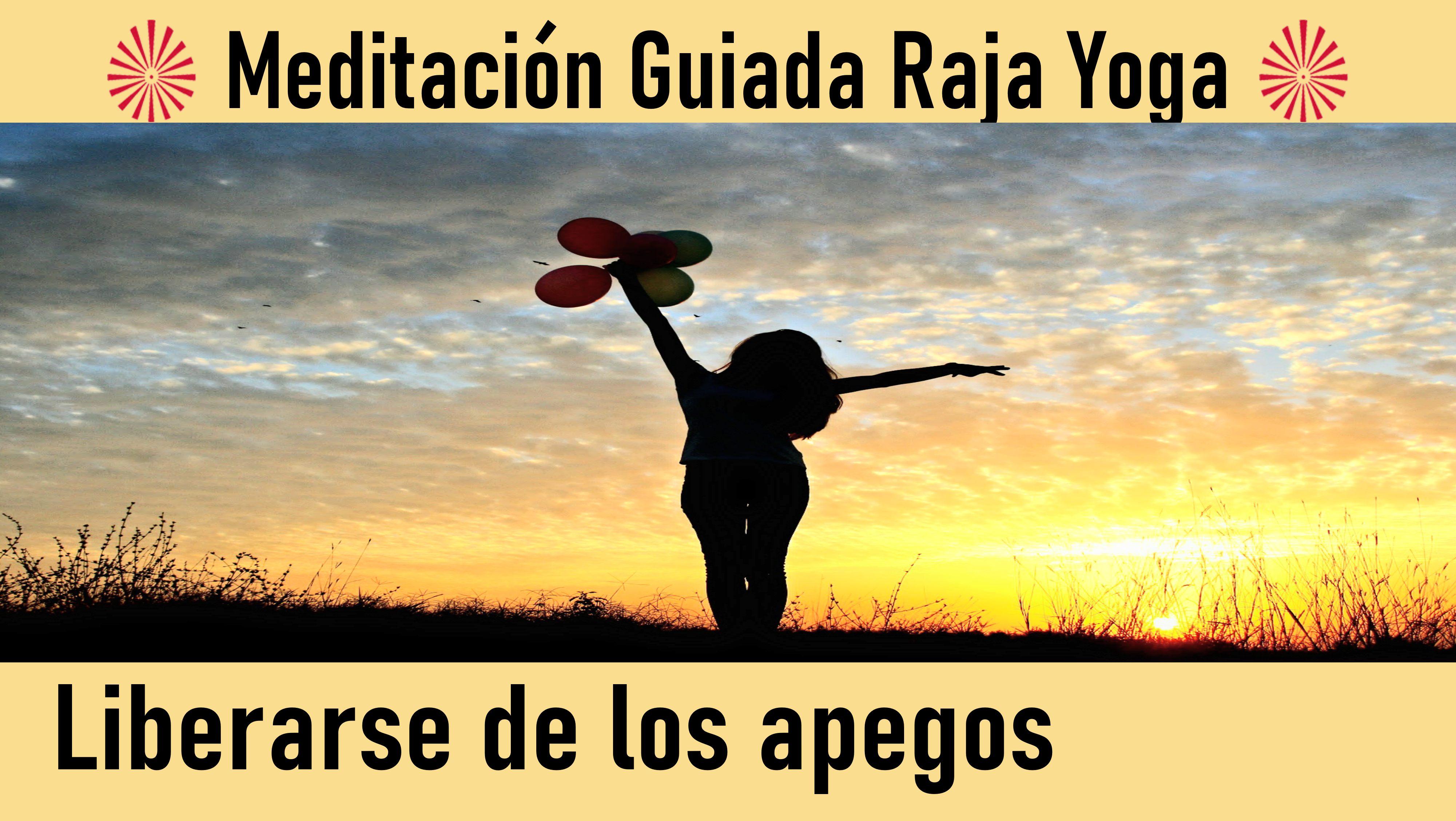 24 Julio 2020 Meditación guiada: Liberarse de los apegos