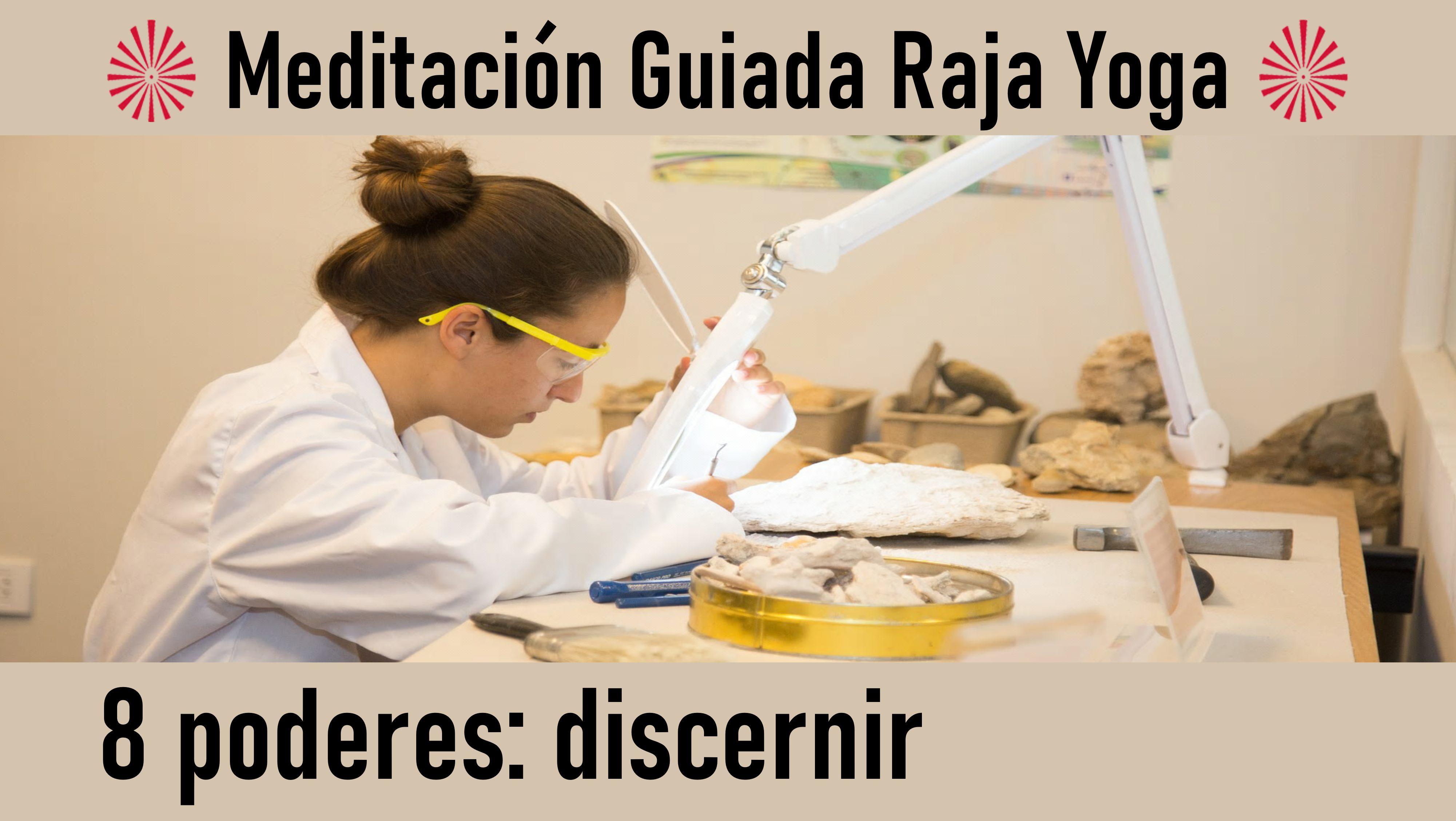 Meditación Raja Yoga: Los 8 poderes - Discernir (7 Julio 2020) On-line desde Canarias