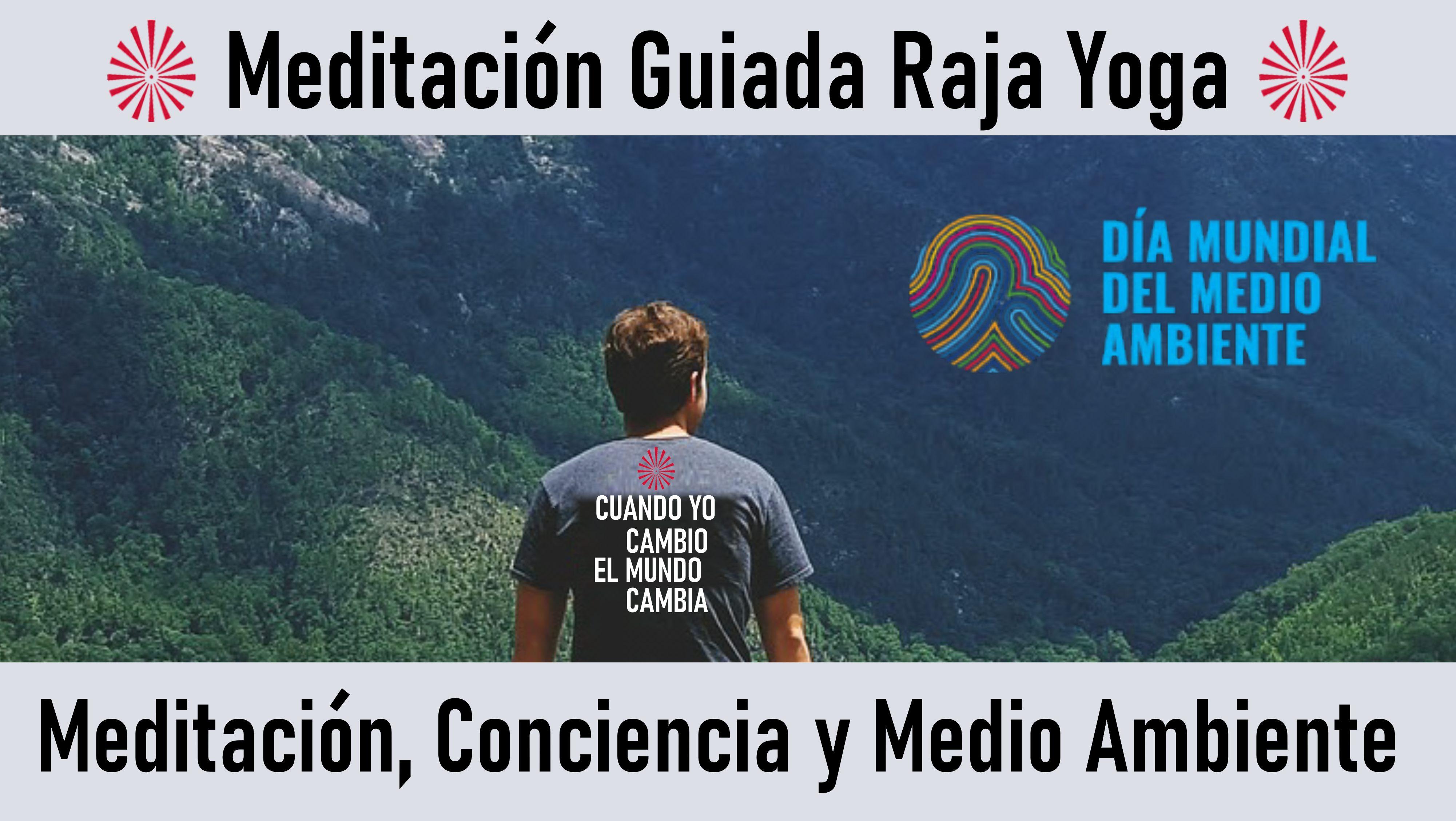 Meditación Raja Yoga: Meditación, Conciencia y Medio Ambiente (5 Junio 2020) On-line desde Madrid