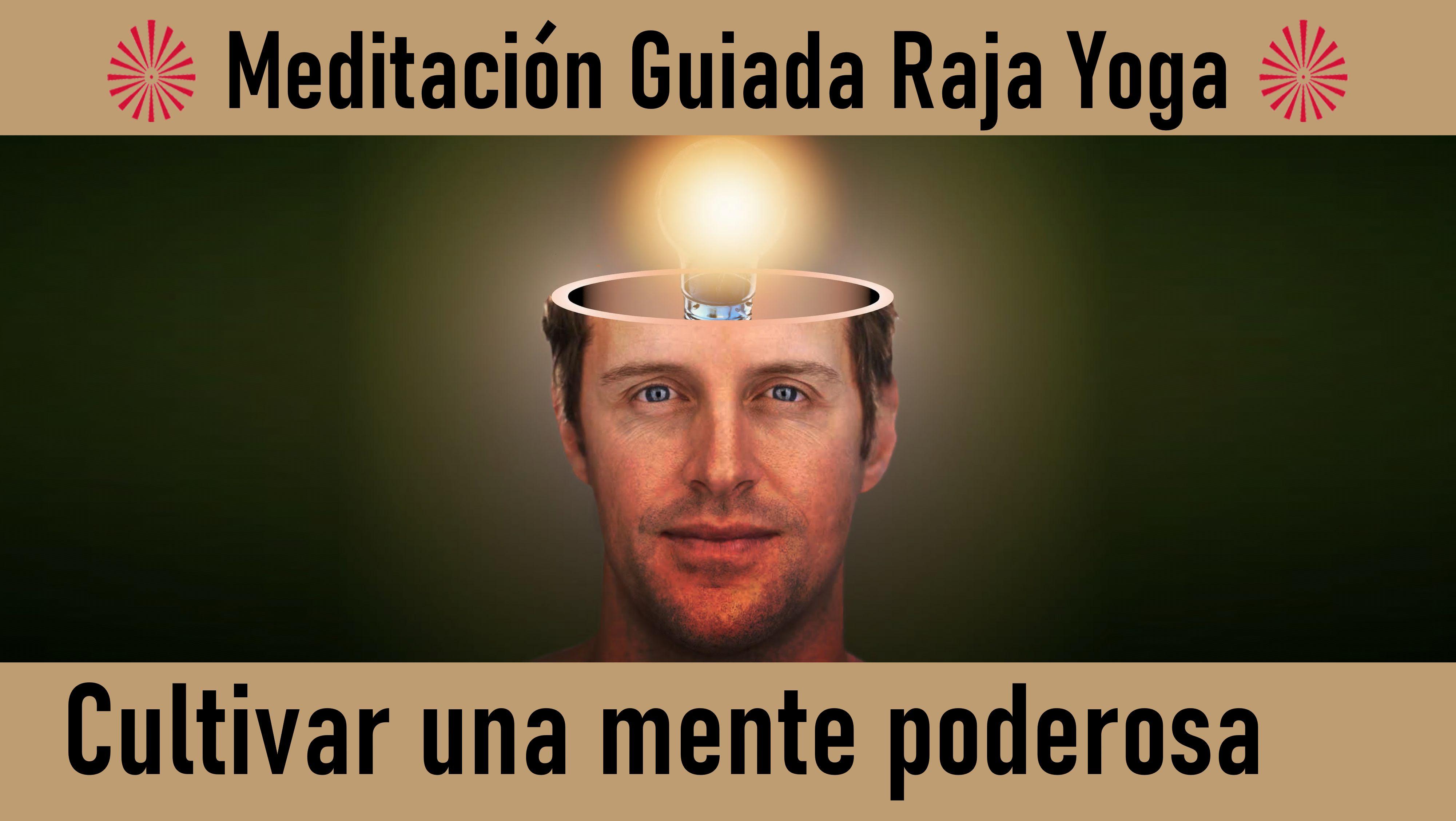 Meditación Raja Yoga: Cultivar una mente poderosa (15 Junio 2020) On-line desde Madrid