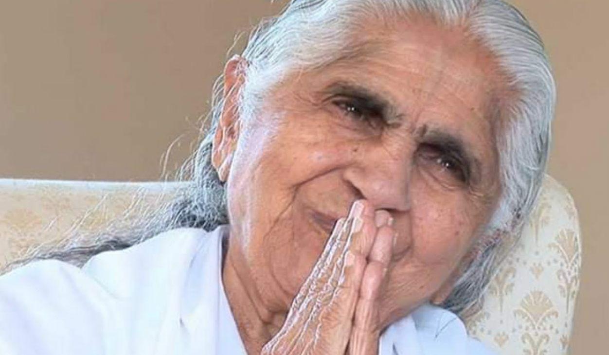 Charla y meditación.Dadi Janki.Mantener la esperanza en el futuro (27 Marzo 2020) On-line desde Valencia