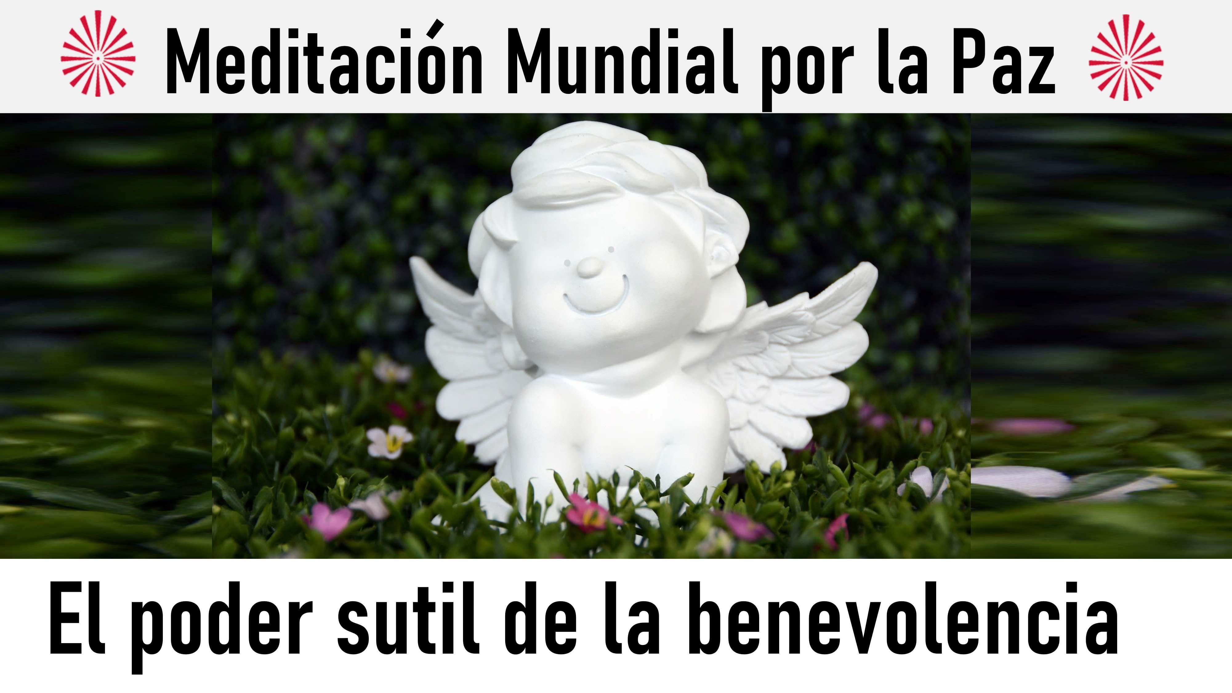 Meditación por la paz en el mundo:El poder sutil de la benevolencia (16 Agosto 2020) On-line desde Valencia