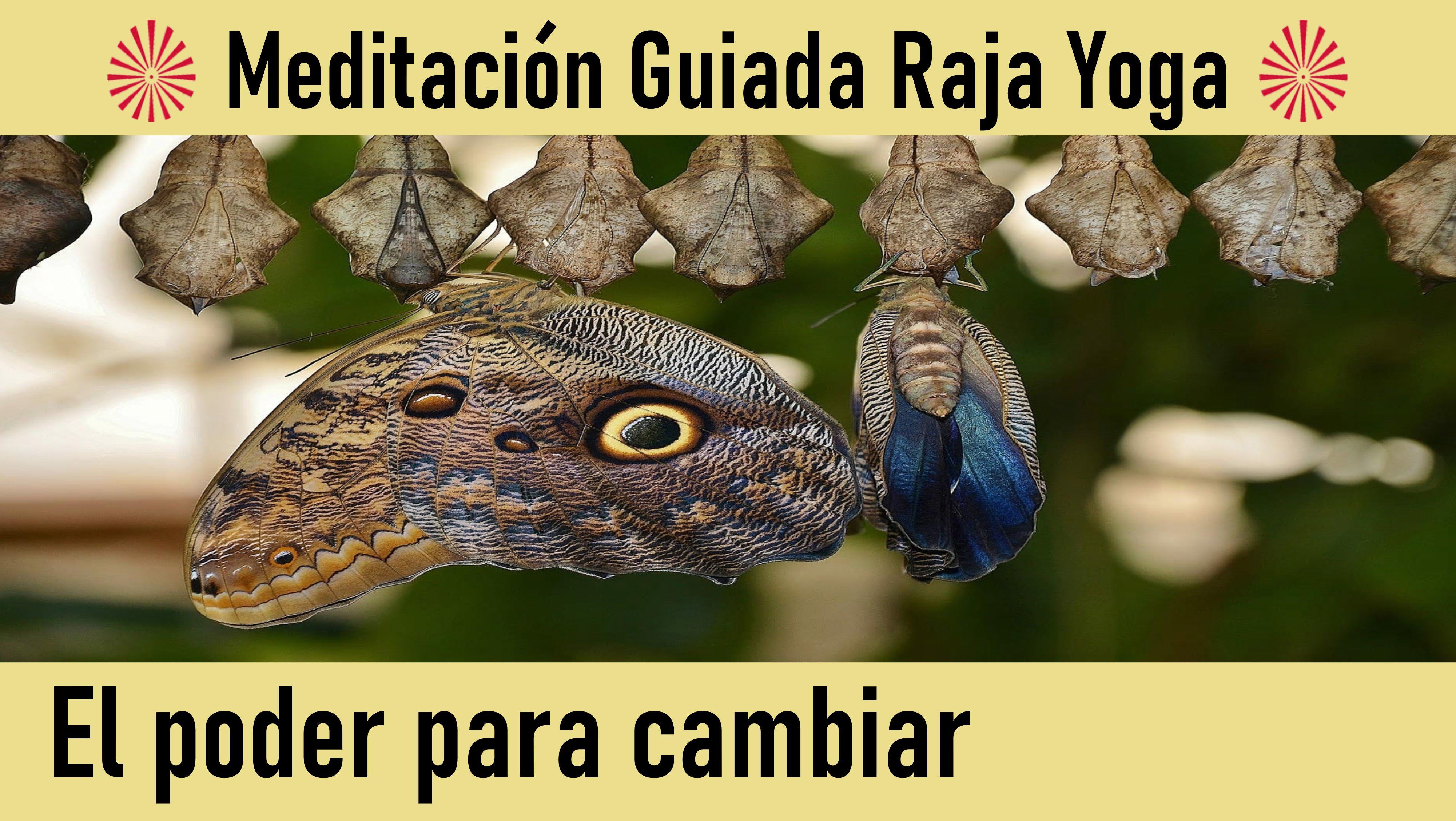 Meditación Raja Yoga: El poder para cambiar (2 Junio 2020) On-line desde Canarias