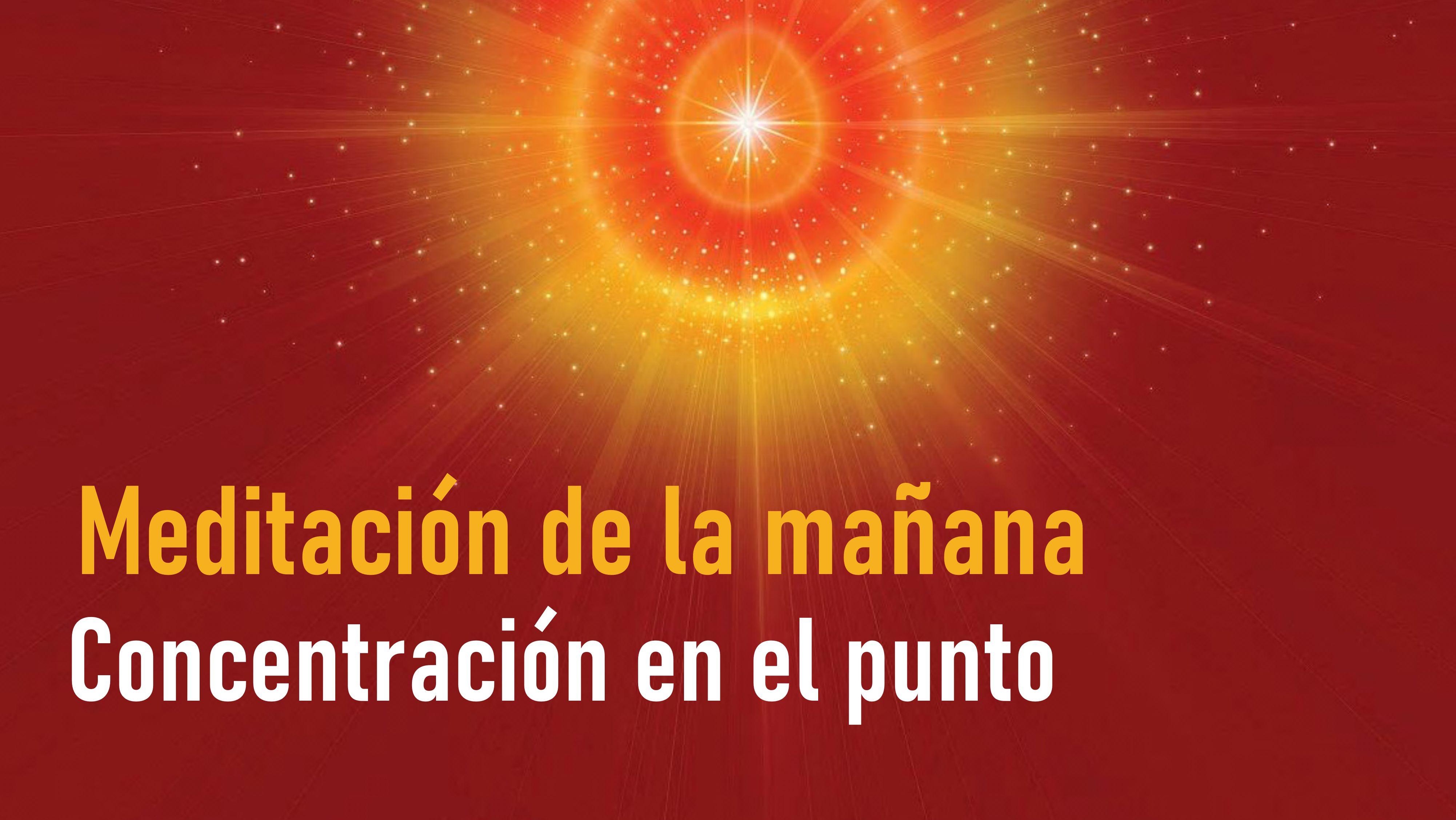 Meditación de la mañana: Concentración en el punto (30 Julio 2020)
