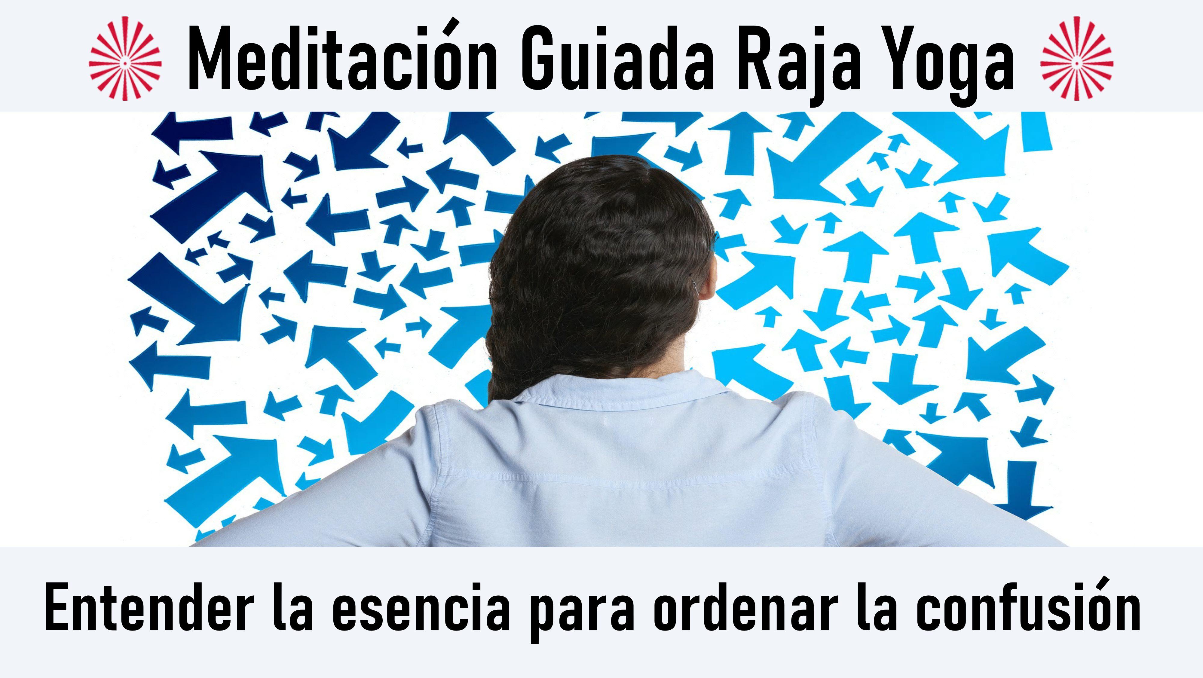 2 Octubre 2020 Meditación guiada: Entender la esencia para ordenar la confusión