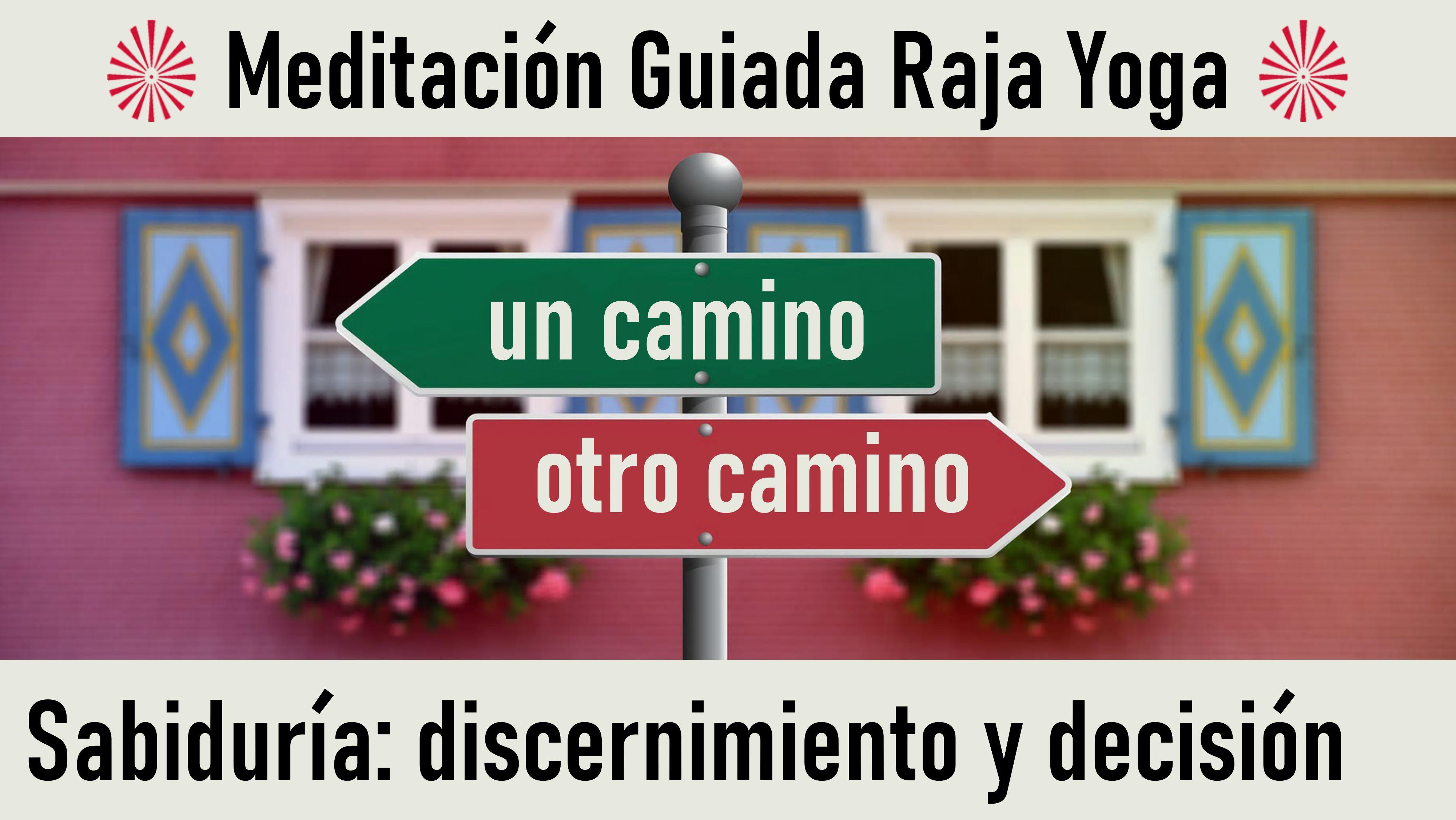 Meditación Raja Yoga:  Sabiduría  discernimiento y decisión (20 Mayo 2020) On-line desde Sevilla