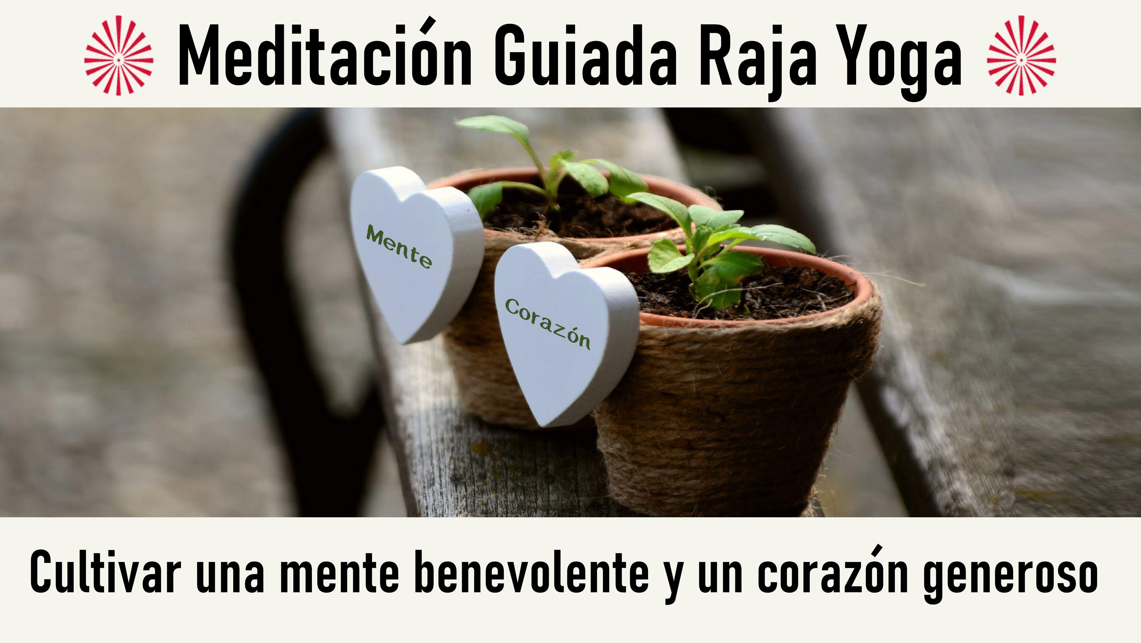 Meditación Raja Yoga: Cultivar una mente benevolente y un corazón generoso (11 Junio 2020) On-line desde Mallorca