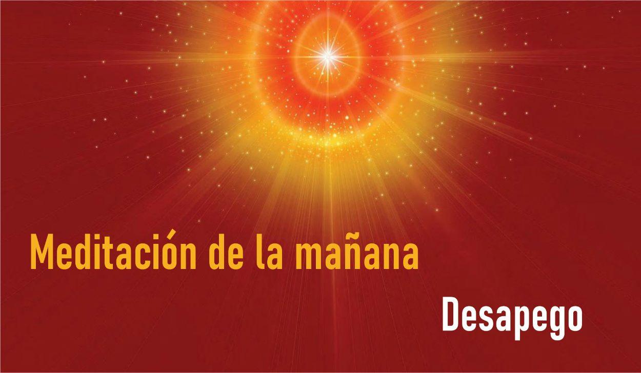 Meditación Guiada de la Mañana: Desapego  (22 Abril 2020) On-line desde Madrid