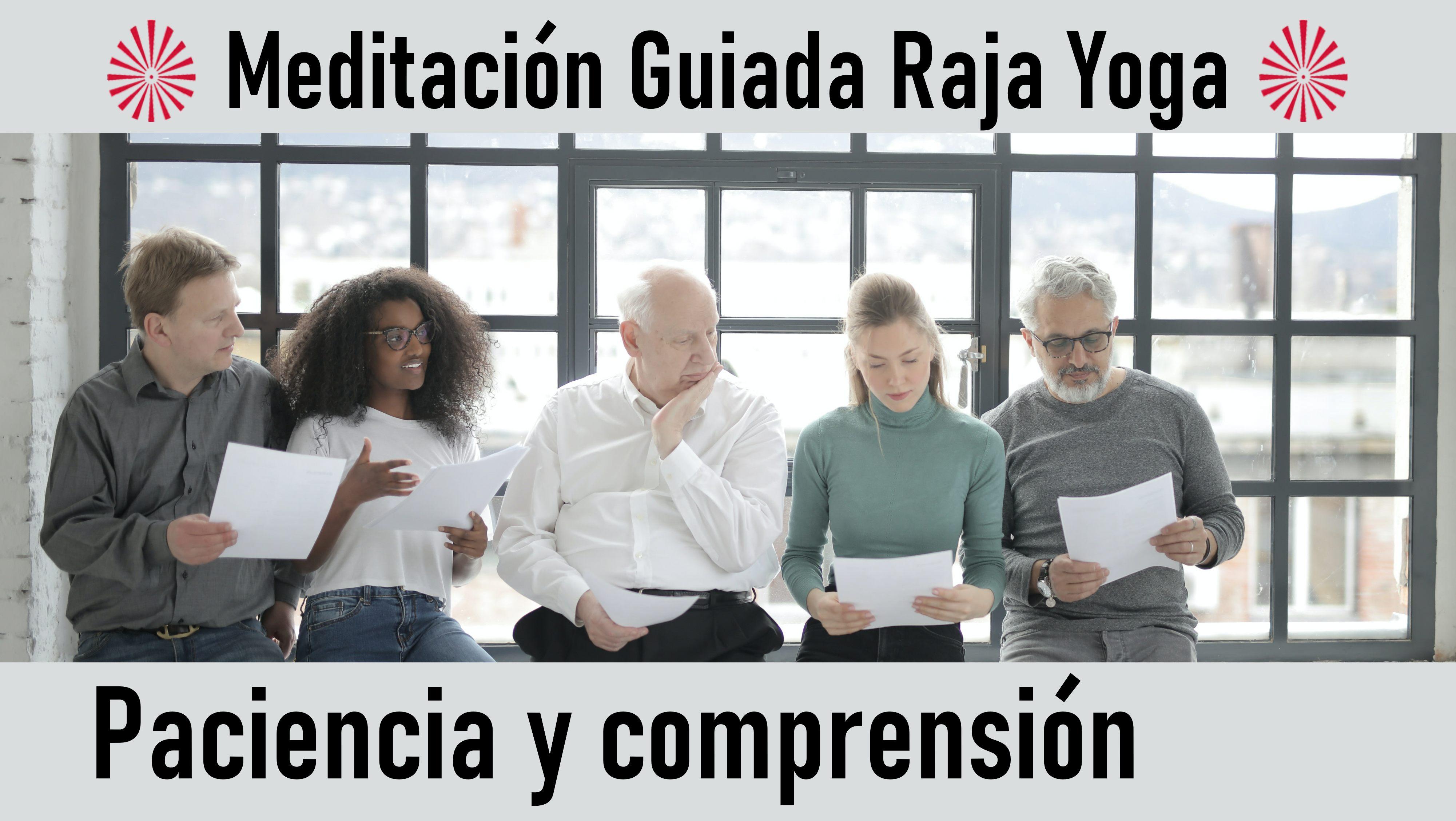 Meditación Raja Yoga: Paciencia y comprensión (1 Octubre 2020) On-line desde Madrid