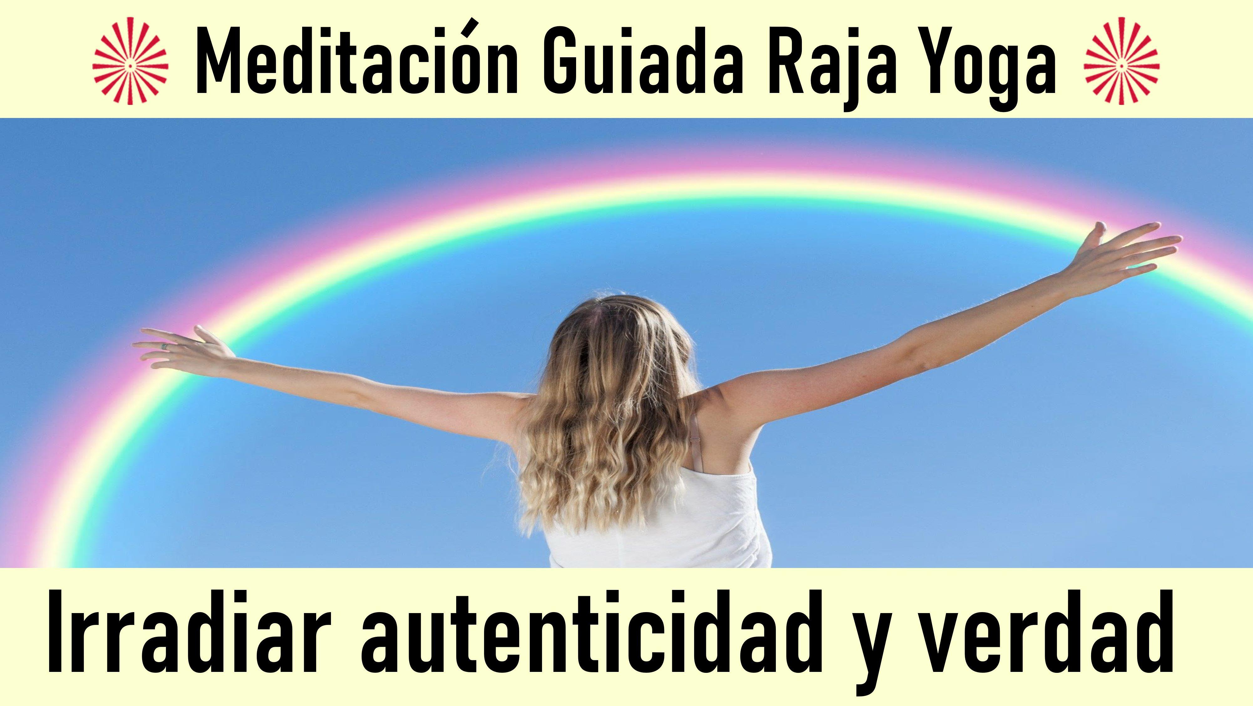 31 Mayo 2020 Meditación Guiada: Irradiar autenticidad y verdad