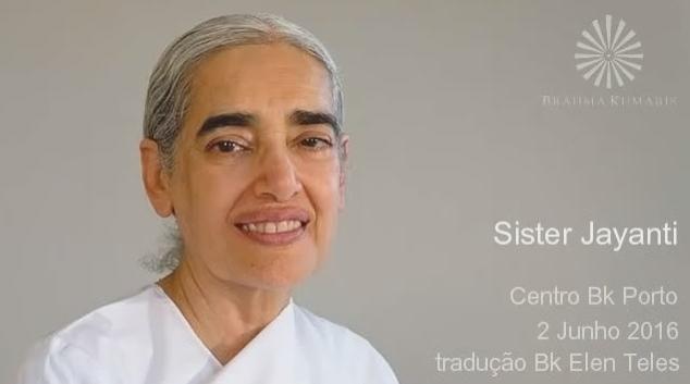 Entrevista a Sister Jayanti no Porto