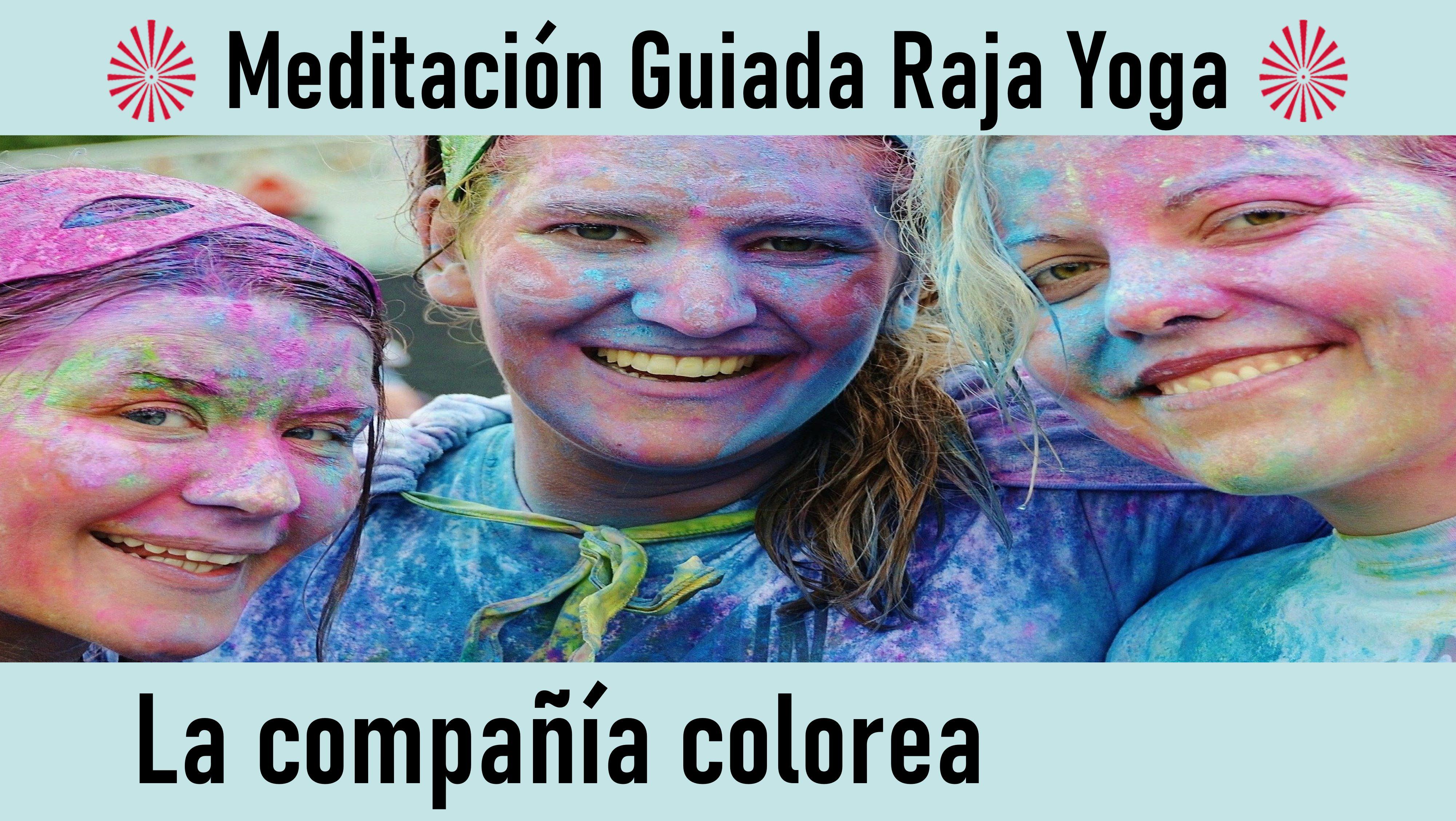 Meditación Raja Yoga: La compañía colorea (2 Septiembre 2020) On-line desde Sevilla