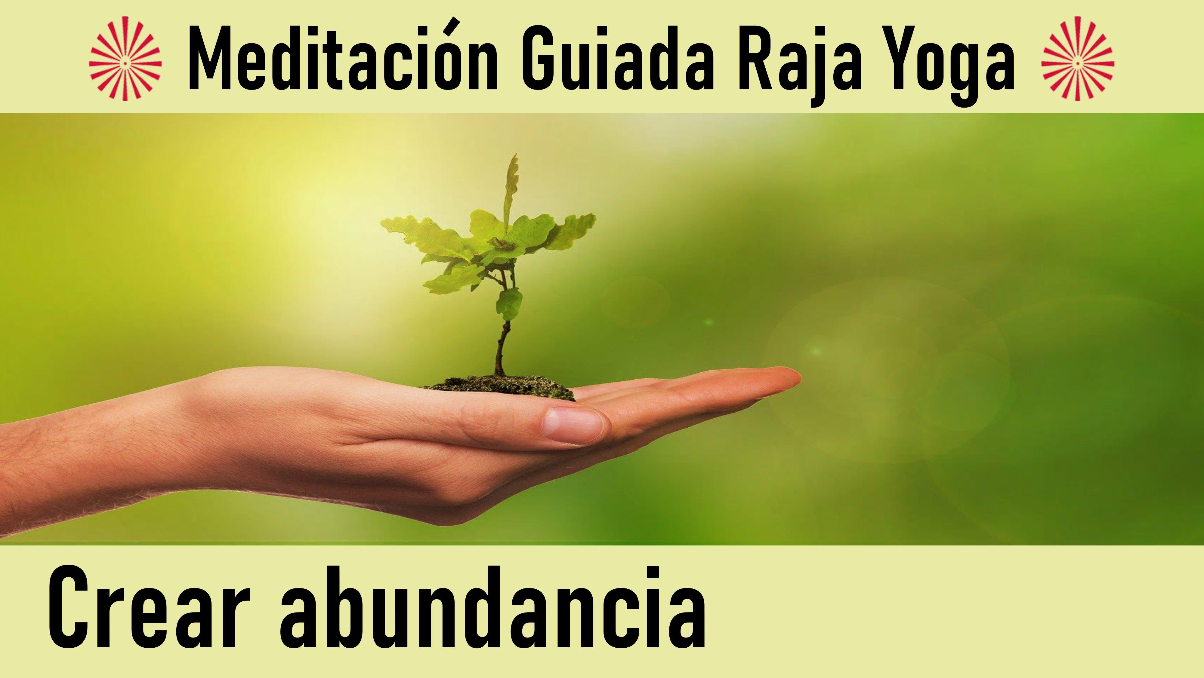 30 Mayo 2020  Meditación Guiada: Crear Abundancia