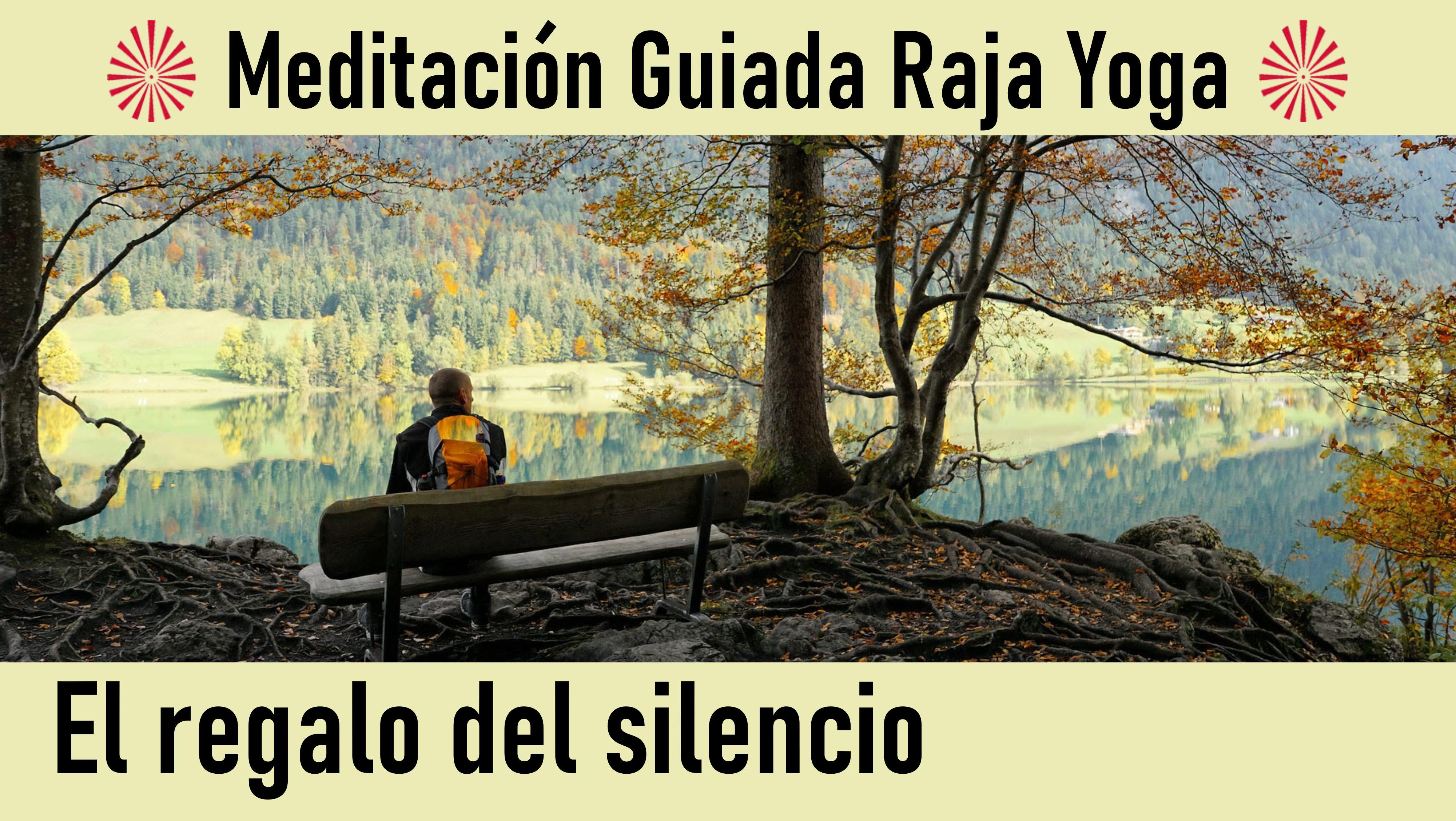 Meditación Raja Yoga: El regalo del silencio (16 Junio 2020) On-line desde Madrid