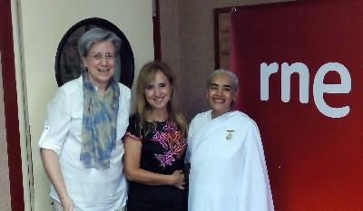 Entrevista sobre la Meditación en Radio Nacional de España a sister Jayanti ( 3 Enero 2016) Valencia