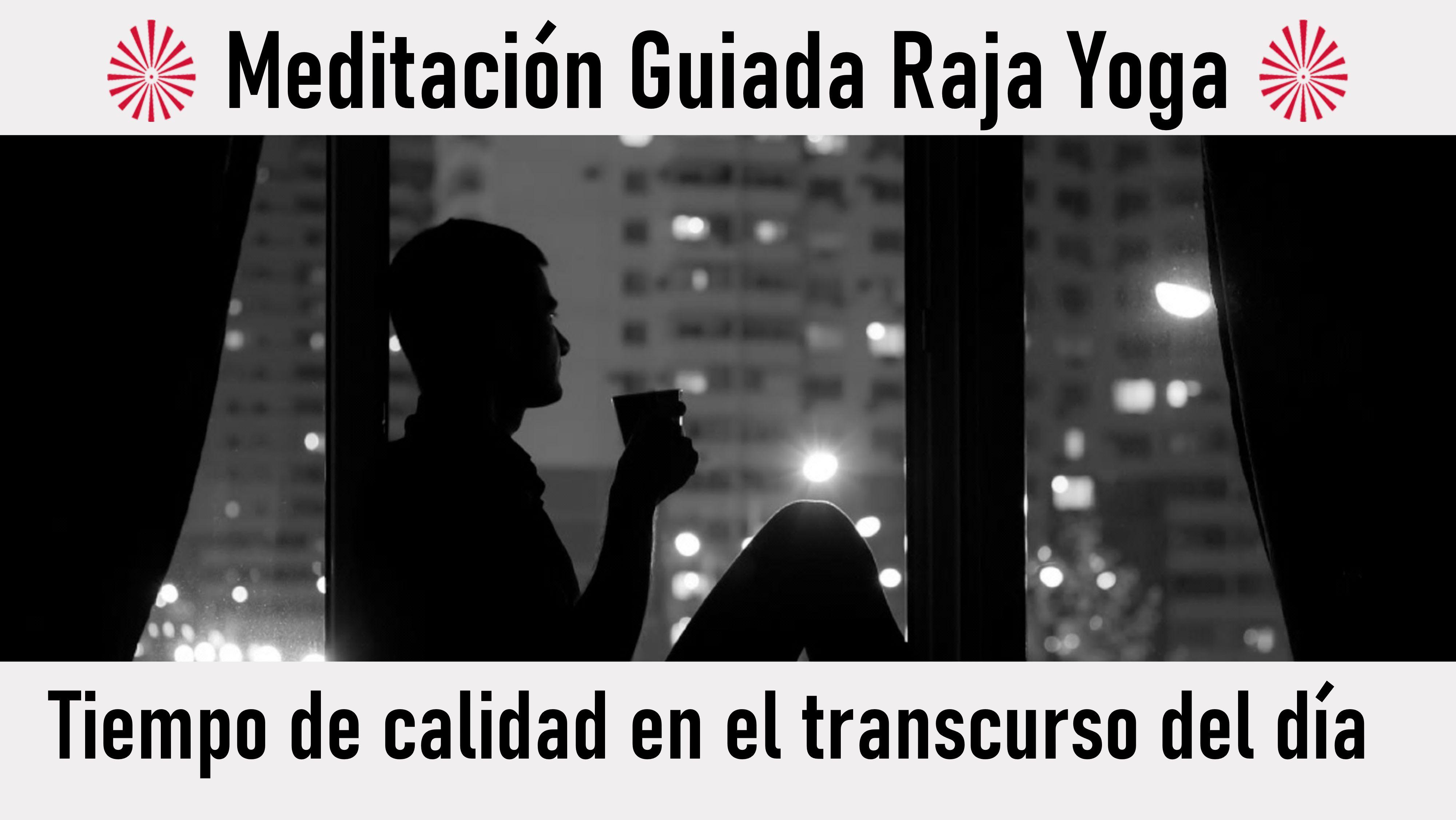 30 Julio 2020 Meditación guiada:Tiempo de calidad en el transcurso del día