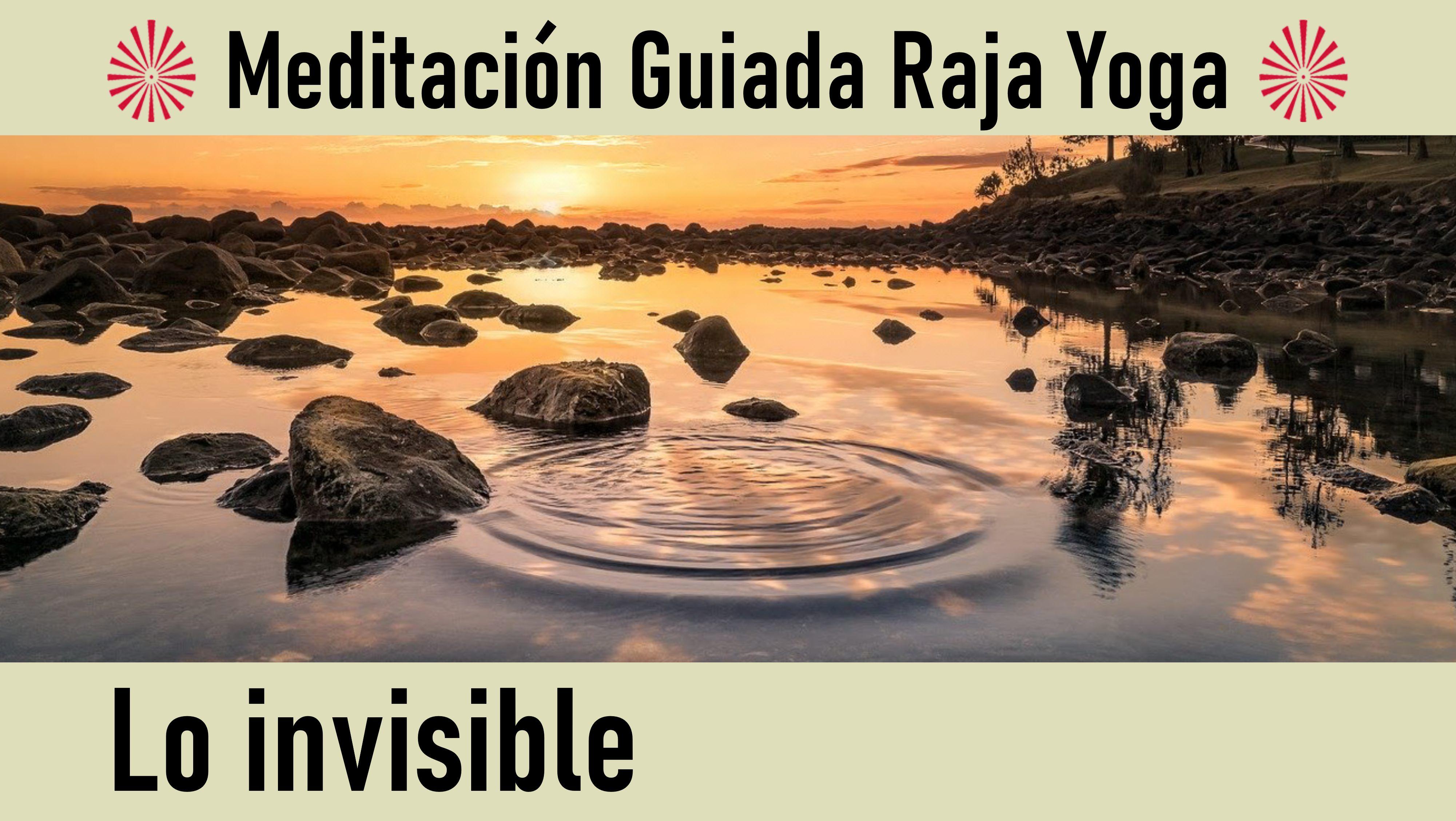 3 Julio 2020 Meditación Guiada: Lo invisible