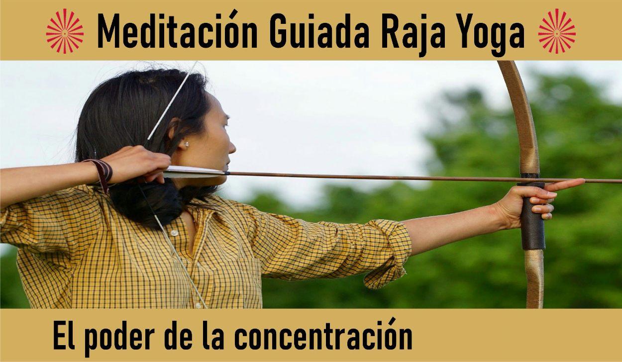Charla y Meditación.Meditación Raja Yoga: El poder de la concentración (5 Mayo 2020) On-line desde Madrid