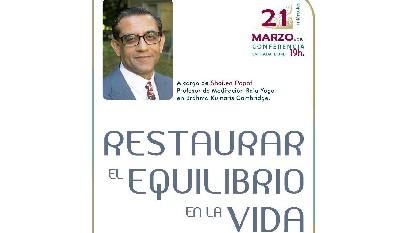 Restaurar el equilibrio en la vida (21 Marzo 2018) En Barcelona