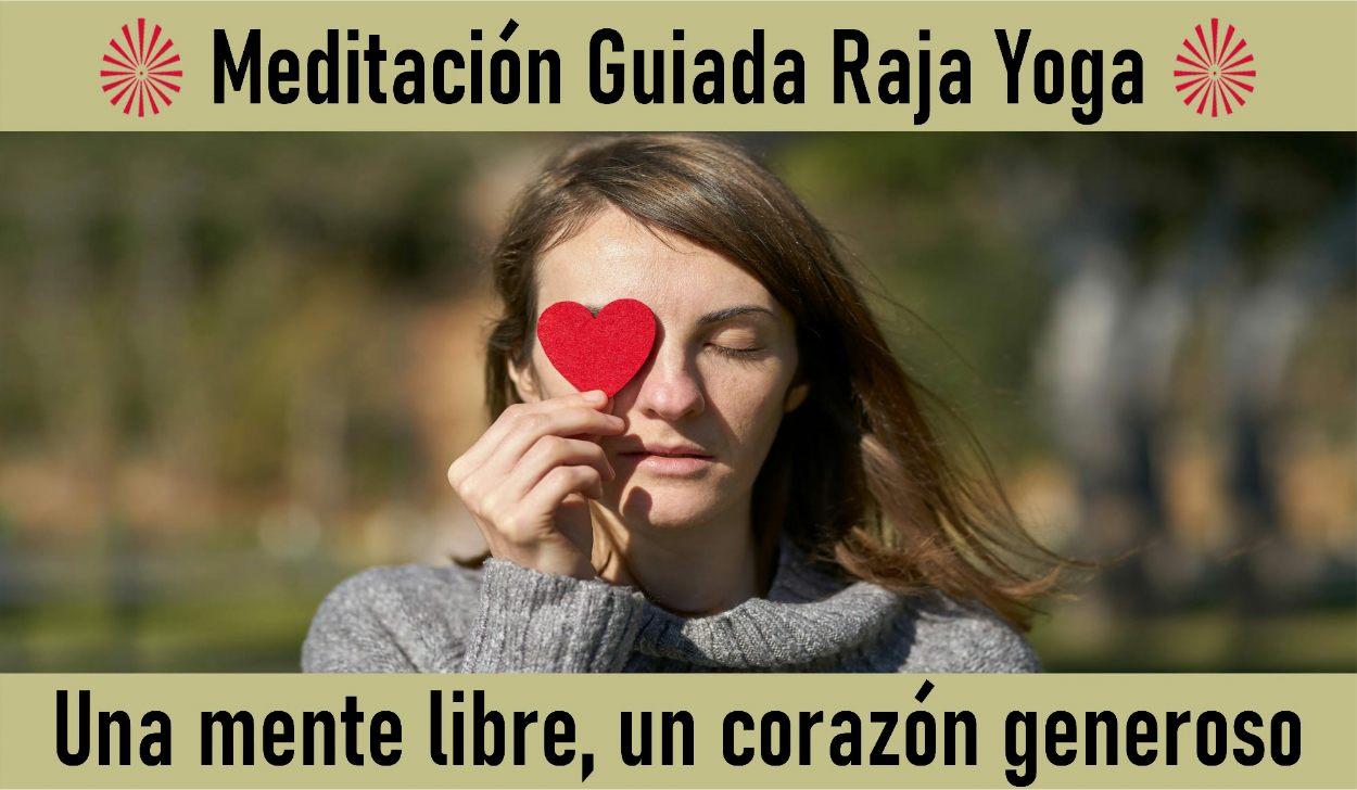 29 Abril 2020  Meditación Guiada: Una mente libre, un corazón generoso