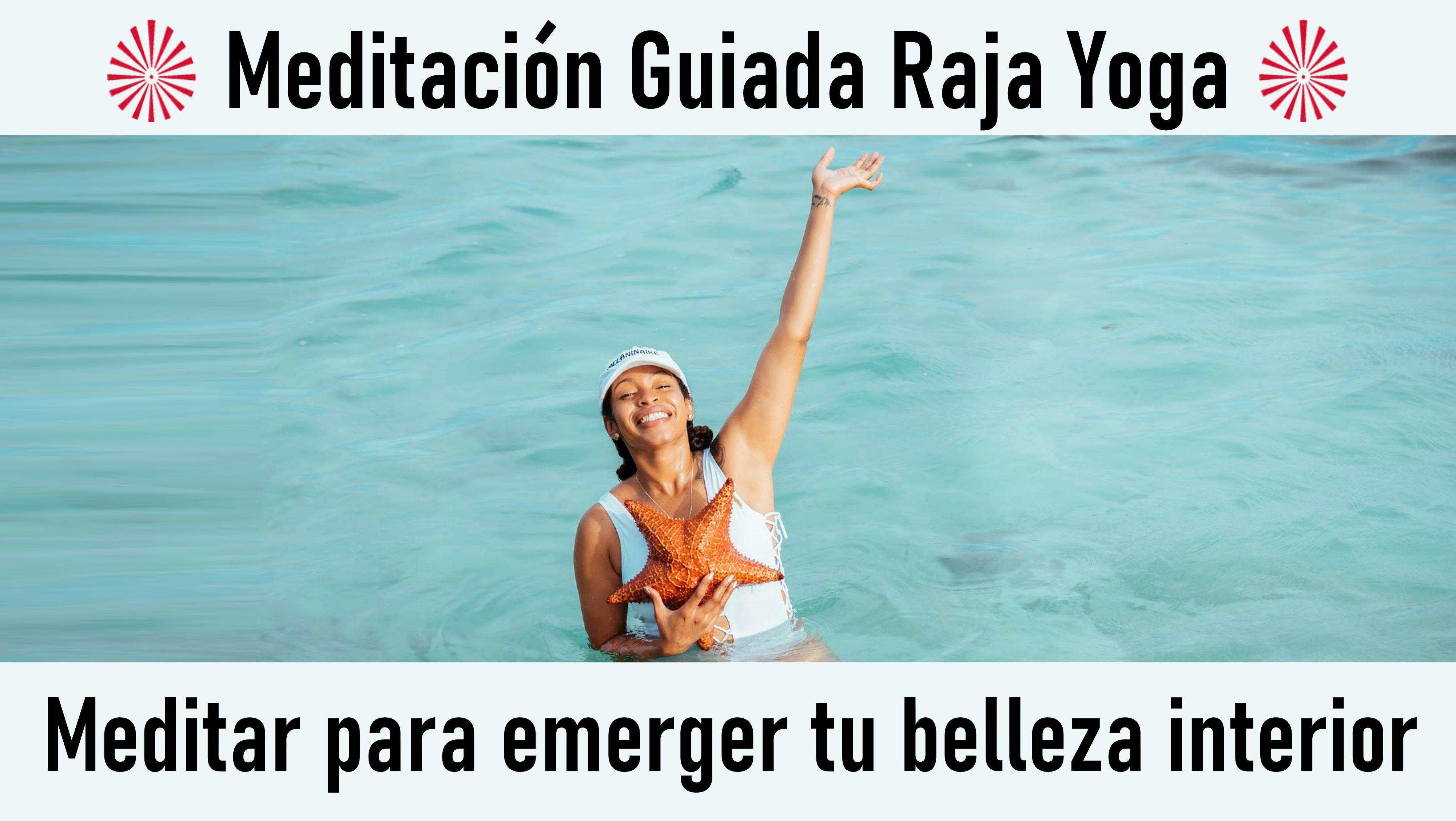 Meditación  Raja Yoga: Meditar para emerger tu belleza interior (29 Julio 2020) On-line desde Sevilla