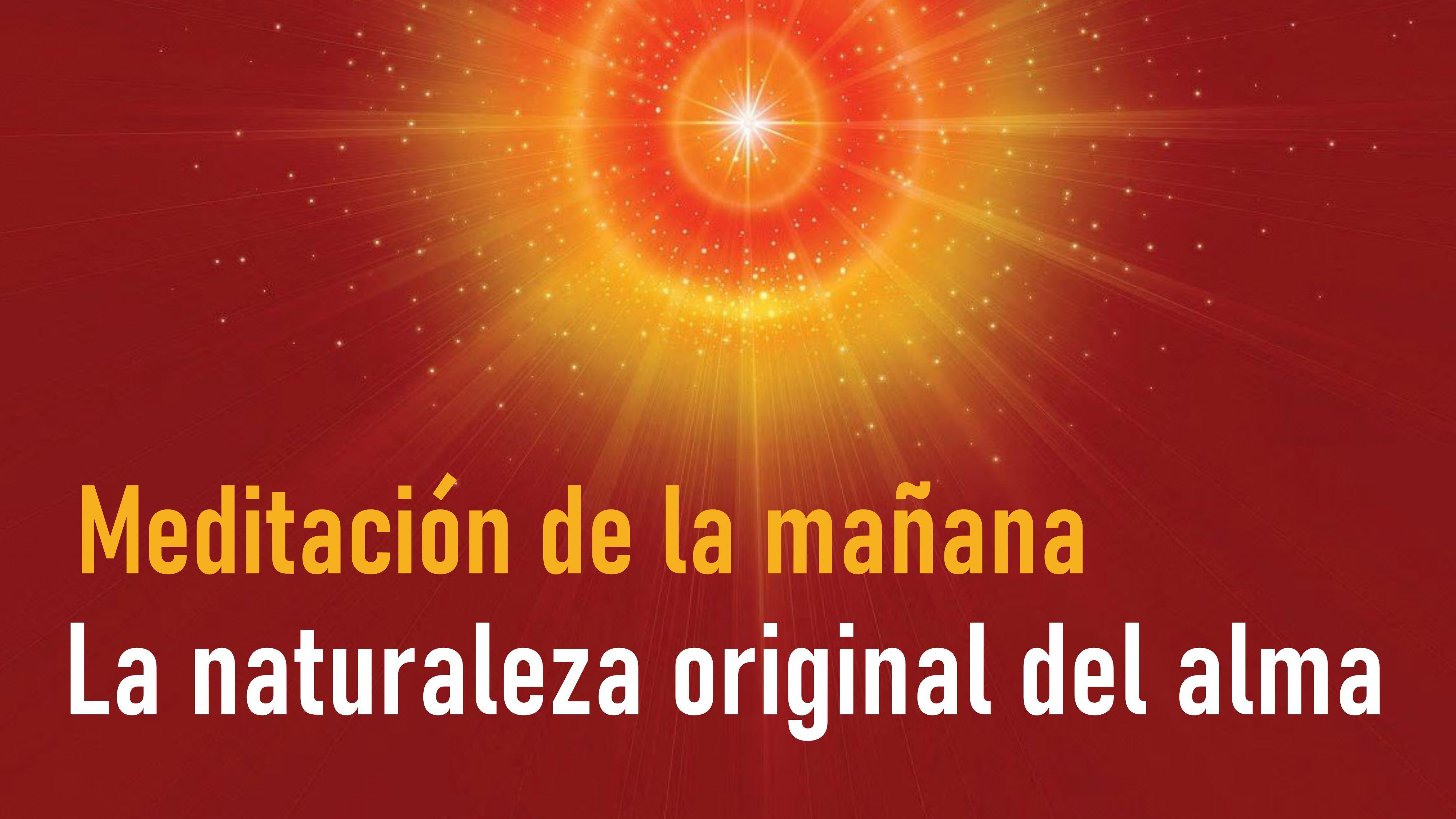 Meditación de la mañana: La naturaleza original del alma (3 Septiembre 2020)