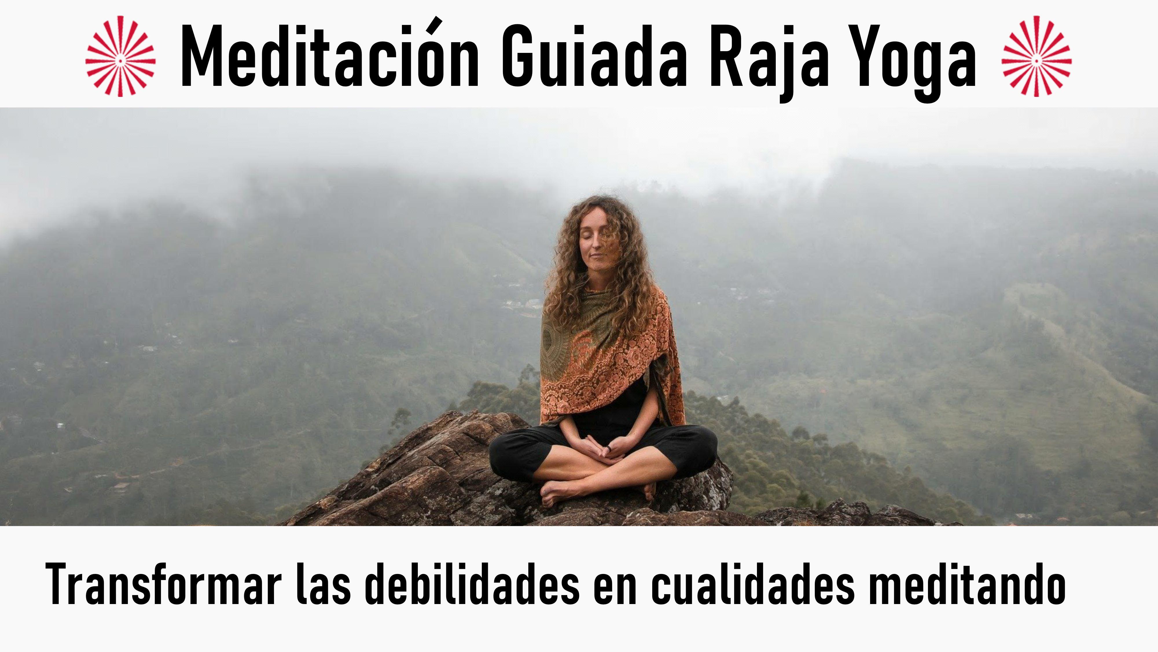 5 Agosto 2020 Meditación guiada: Transformar las debilidades en cualidades meditando