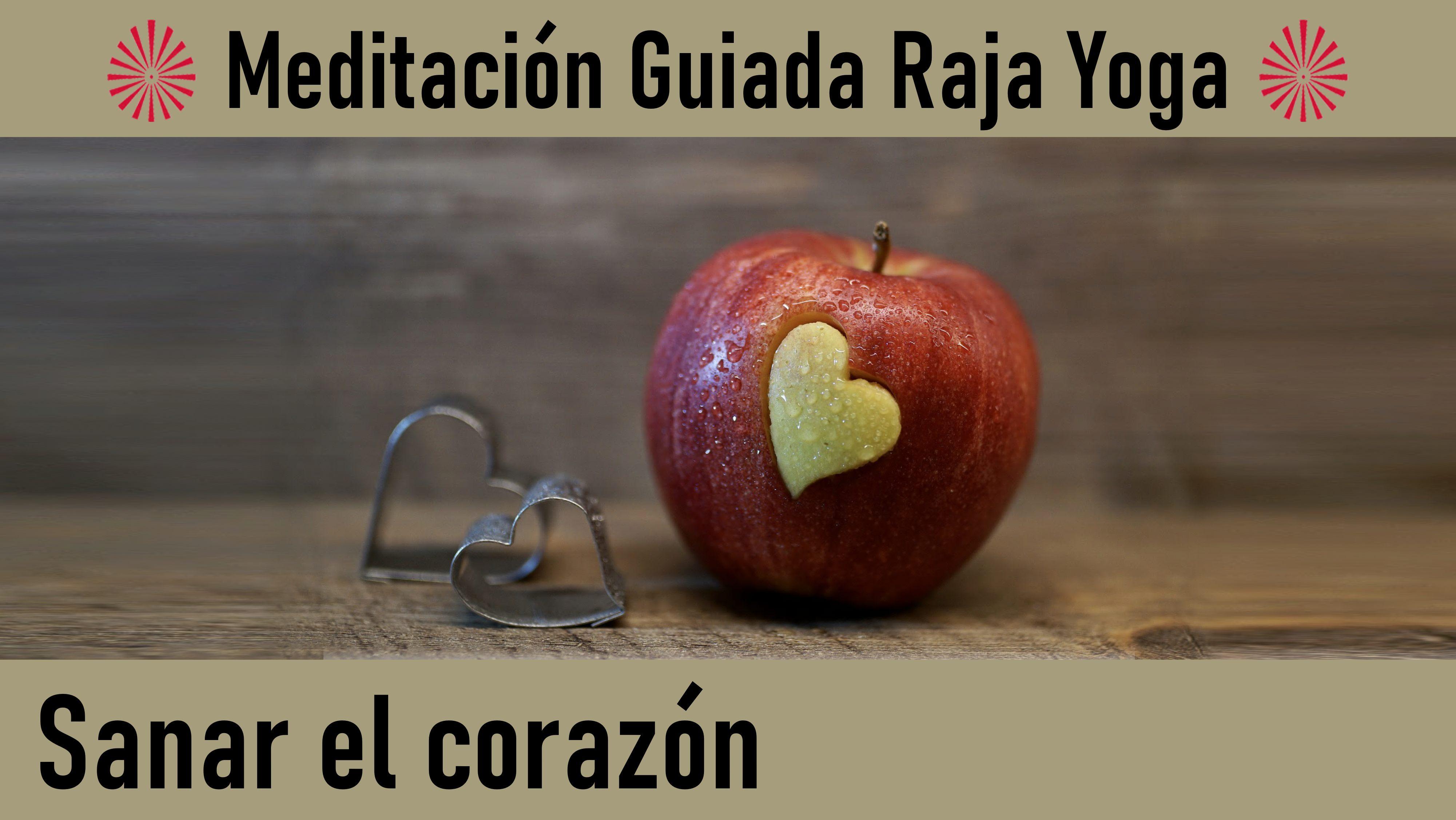 """Meditación Raja Yoga  """"Sanar el corazón"""" (18 Mayo 2020) On-line desde Barcelona"""