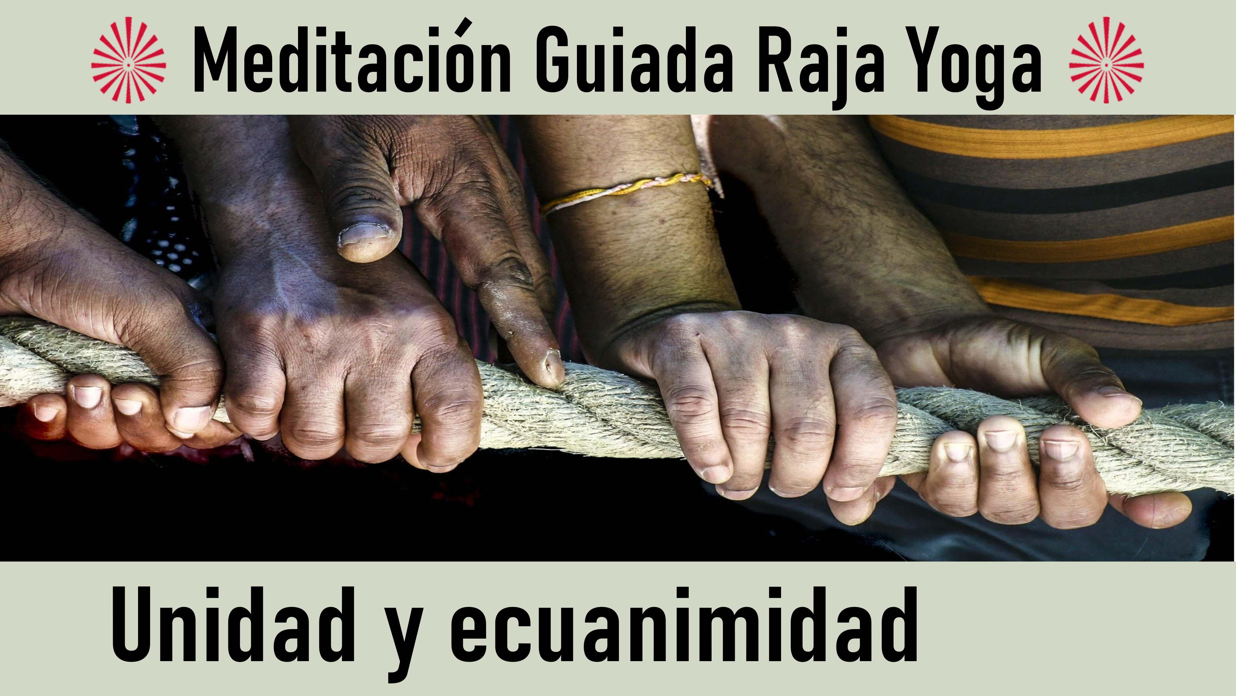 Meditación Raja Yog: Unidad y ecuanimidad (29 Agosto 2020) On-line desde Valencia
