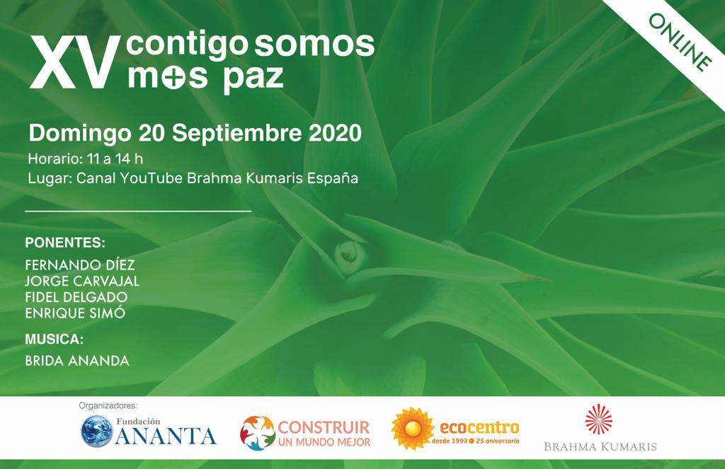 XV contigo somos más paz (20 Septiembre 2020) On-line desde Madrid
