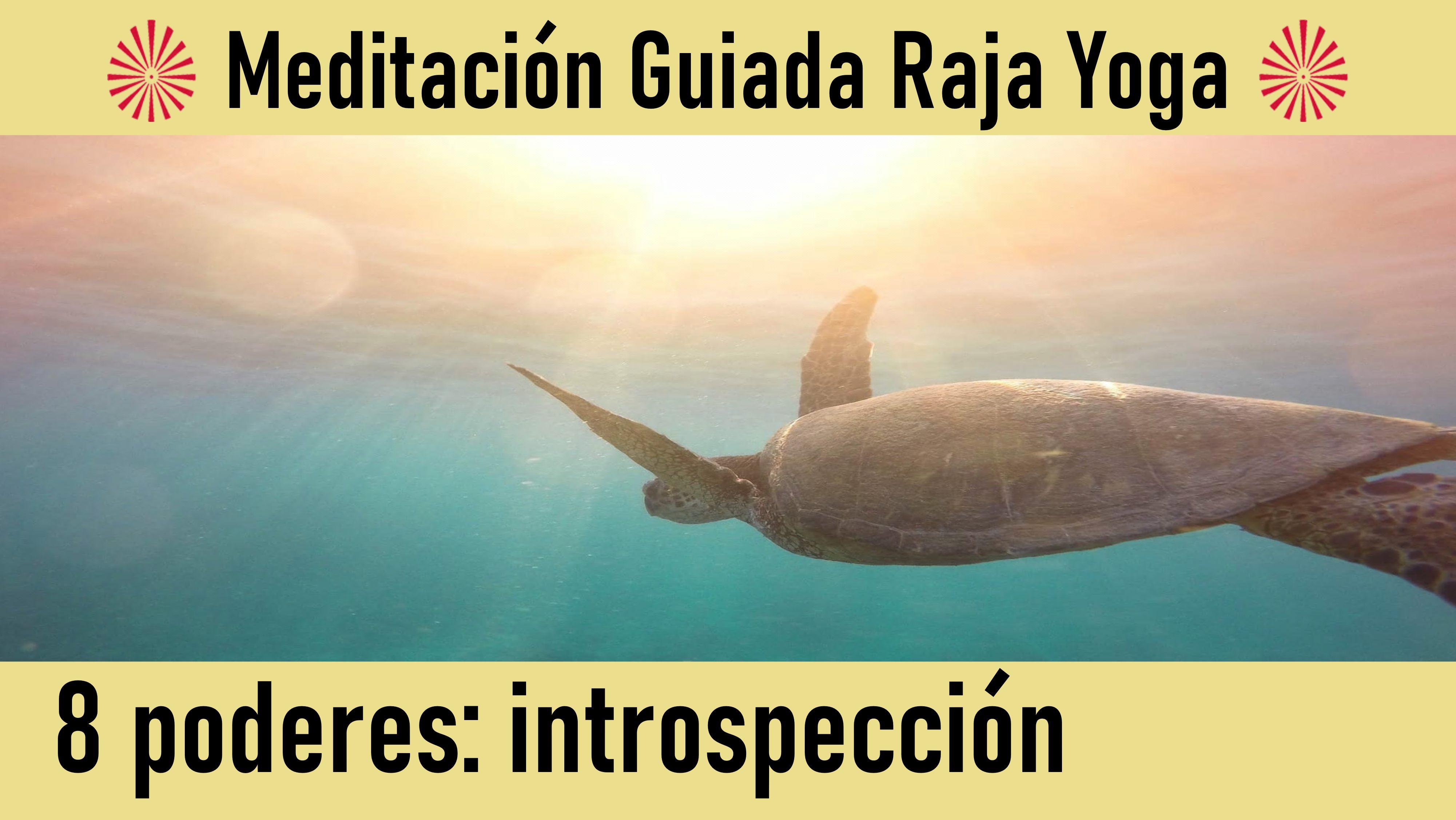 Meditación Raja Yoga: El poder de la introspección (9 Junio 2020) On-line desde Canarias