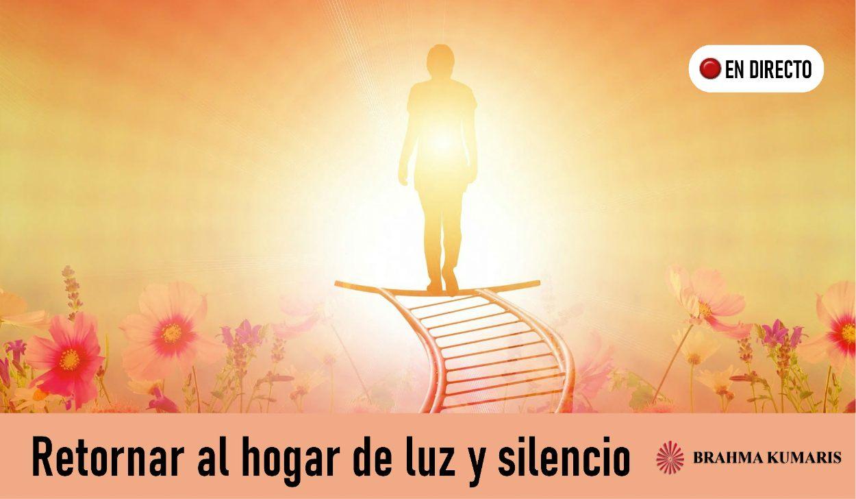 Charla y Meditación.Meditacion Raja Yoga:Retornar al hogar de luz y silencio (21 Abril 2020) On-line desde Madrid