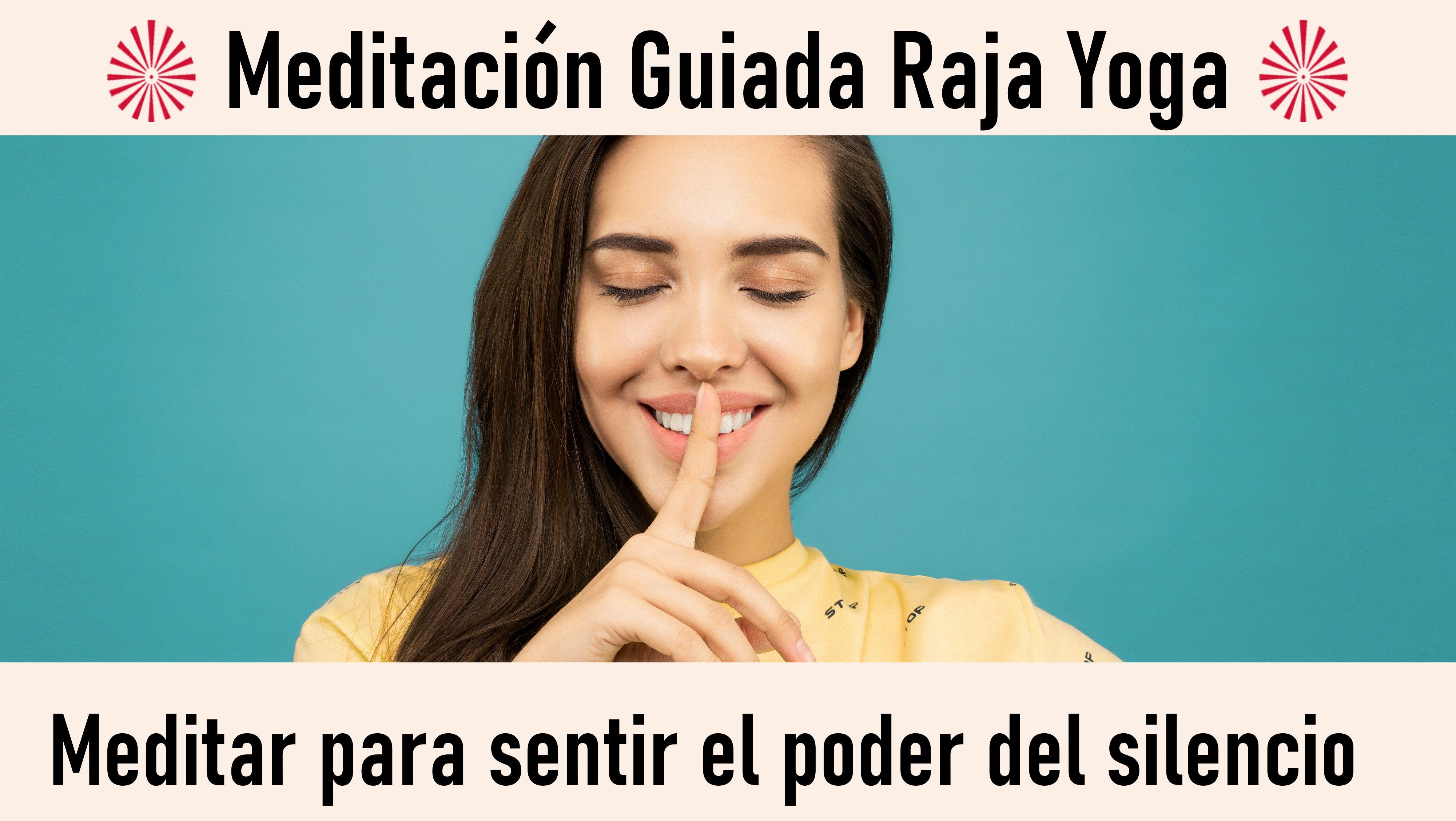 7 Octubre 2020  Meditación guiada: Meditar para sentir el poder del silencio