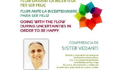 Fluir ante la incertidumbre para ser feliz (22 Agosto 2017) En Barcelona