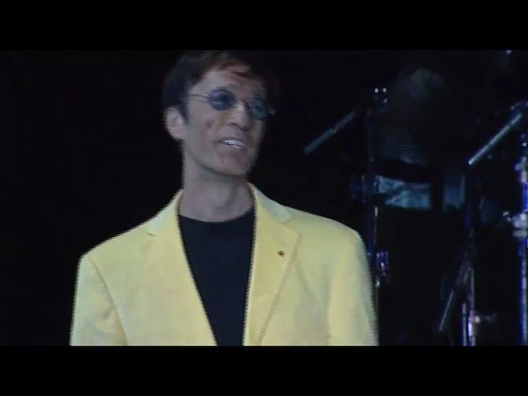 Robin Gibb at Wembley Arena