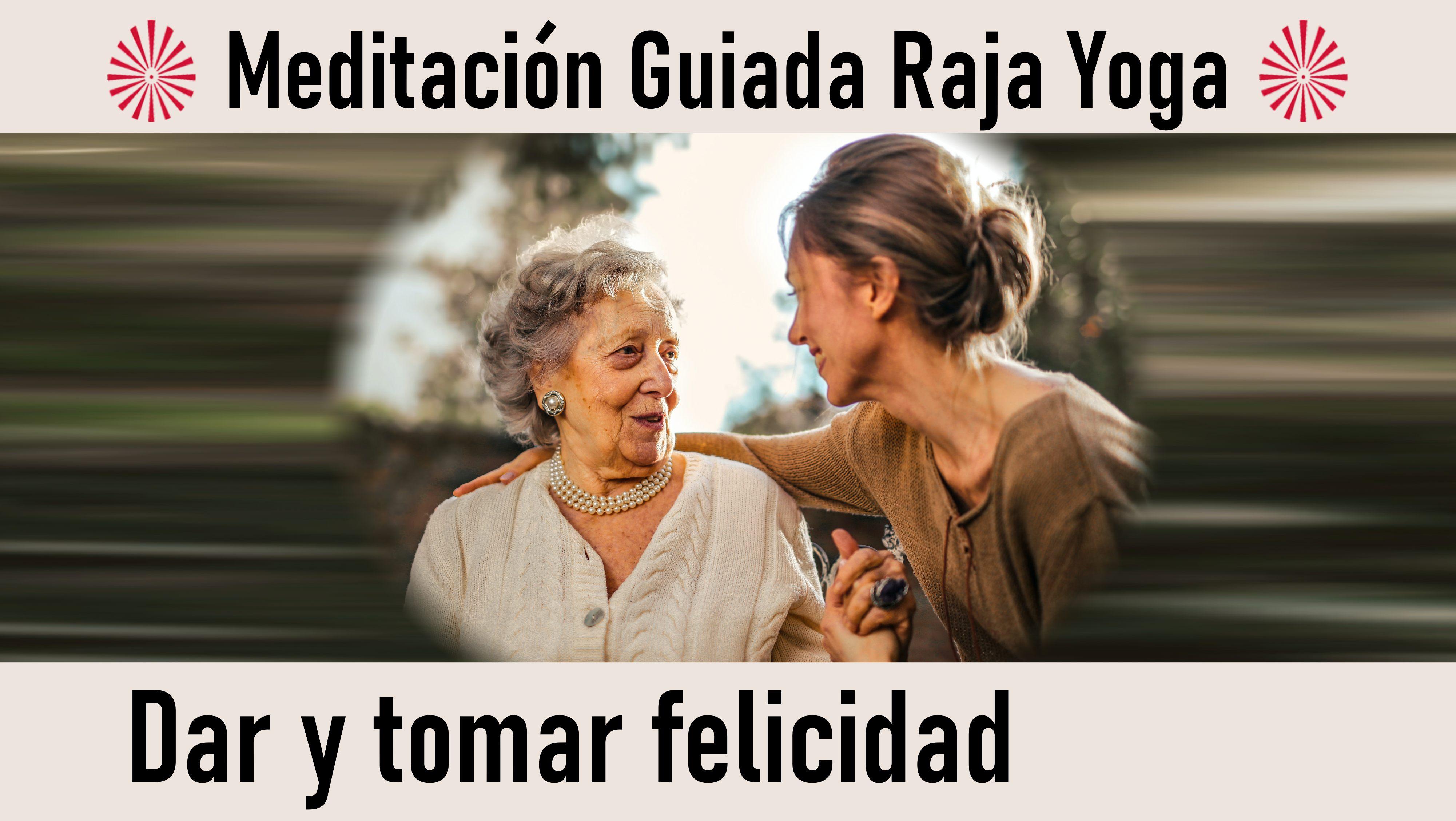 24 Septiembre 2020  Meditación guiada: Dar y tomar felicidad