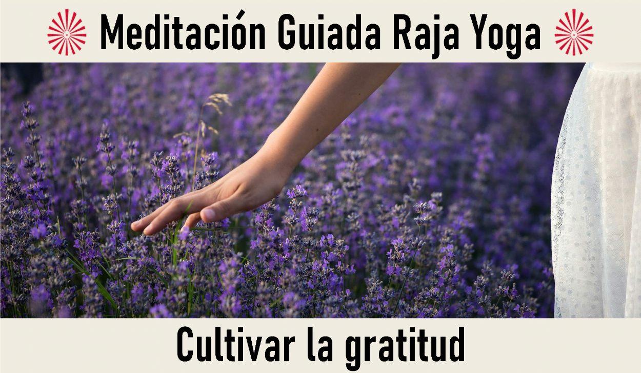 Charla y Meditación.Meditación Raja Yoga: Cultivar la Gratitud (3 Mayo 2020) On-line desde Valencia